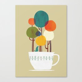 Life in a cup Canvas Print