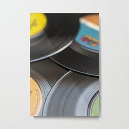 The Vinyl Frontier III Metal Print