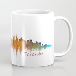 Toronto Canada City Skyline Hq v02 Coffee Mug