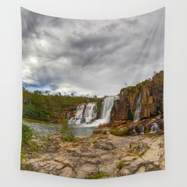 Here comes the rain Wall Tapestry
