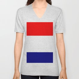 Flag of Netherlands 2 -pays bas, holland,Dutch,Nederland,Amsterdam, rembrandt,vermeer. Unisex V-Neck