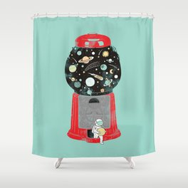 My childhood universe Shower Curtain