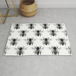 The Bee's Knees Black Rug