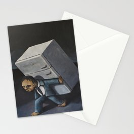 Refrigerator Crucifixion Stationery Cards