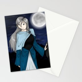 Moonlit Woman Stationery Cards