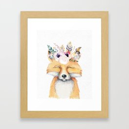 Forest Fox by Nature Magick Framed Art Print