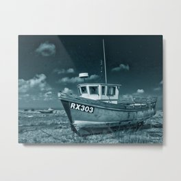 Dungeness And Boat Metal Print