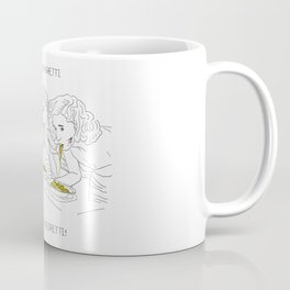 Girls and the Spaghetti Coffee Mug