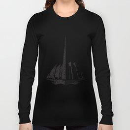 City Block Perspective Stipple Long Sleeve T-shirt