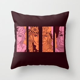riders Throw Pillow