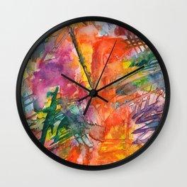 politics Wall Clock
