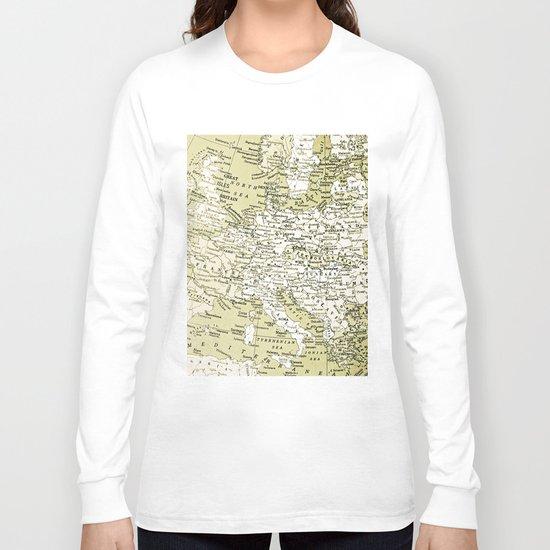 1938 Europe Long Sleeve T-shirt