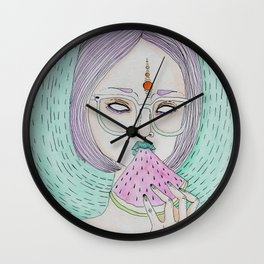 Summer Sweetness Wall Clock