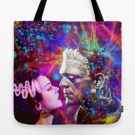 Frankenstein`s Bride Tote Bag