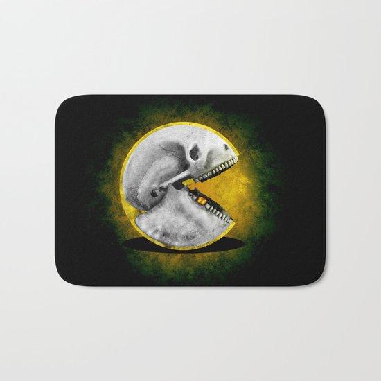 Skull Pacman Bath Mat