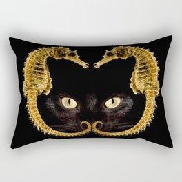 Cat Fish Rectangular Pillow
