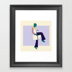 Fashion Dance 6 Framed Art Print