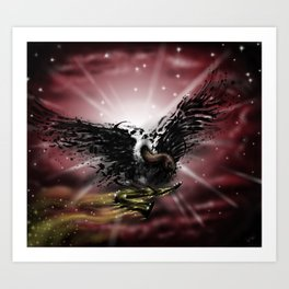 cris´s vulture Art Print