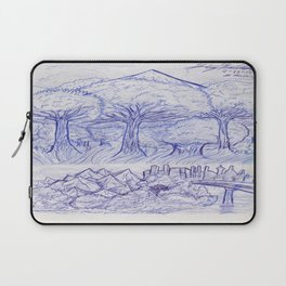 Scenery and Environment Art Sketch  Laptop Sleeve
