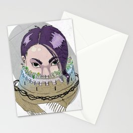 Tough Scarf Stationery Cards