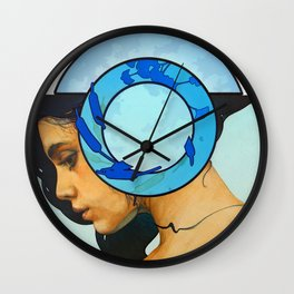 A Moment of Reflection Wall Clock