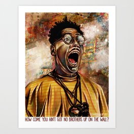 Boycott Sal's Art Print