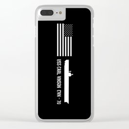 USS Carl Vinson Clear iPhone Case