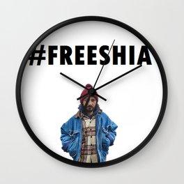 Free Shia LaBeouf Wall Clock