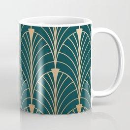 Hidden Sapphire Gold Pattern Coffee Mug