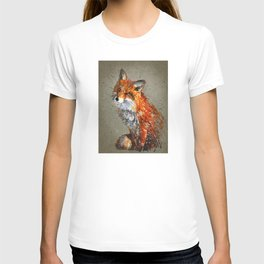 Fox background T-shirt