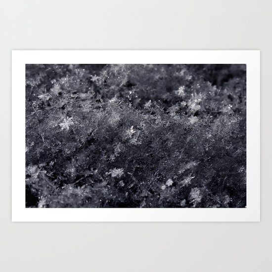 As the stars fell from the sky Art Print