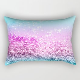Unicorn Girls Glitter #16 #shiny #decor #art #society6 Rectangular Pillow