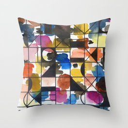 signs: circles and more Throw Pillow