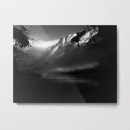 die Alpen I Metal Print