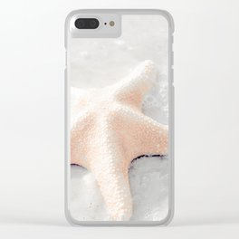 Spectacular Starfish Clear iPhone Case