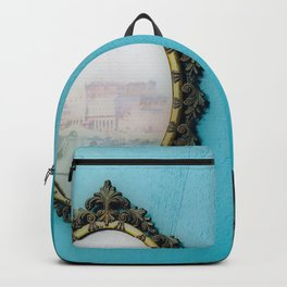 Mirror Mirror on the Wall - Blue Backpack
