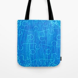 Life is a puzzle 7 Tote Bag