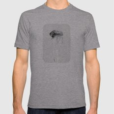 Jellyfish #2 Mens Fitted Tee Athletic Grey SMALL