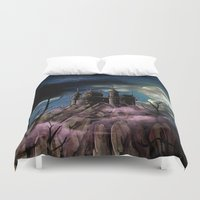 dracula Duvet Covers featuring Dracula by tanduksapi
