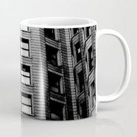building Mugs featuring Building by Conor O'Mara