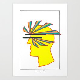 Blind CosmoGuy popart Art Print