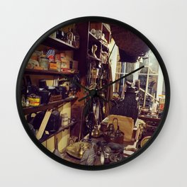 Old Victorian Store Wall Clock