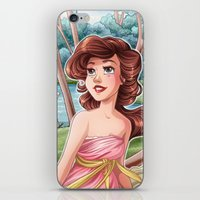 mucha iPhone & iPod Skins featuring Mucha Tseumpfeuh - Morning by Miss Holly