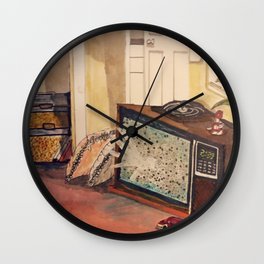 they're back Wall Clock