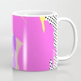 Summer Girl with Sunglasses (flat graphic) Coffee Mug