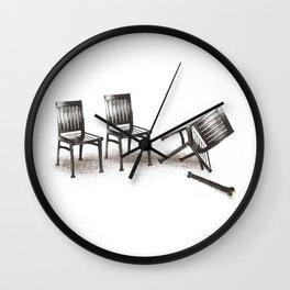 lazybones Wall Clock