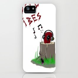 Dp's Good Vibes iPhone Case