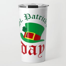 St.Patrick's day Travel Mug