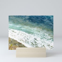 Waves Plongee of the Pacific Ocean Mini Art Print