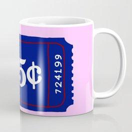 25¢ blue ticket Coffee Mug
